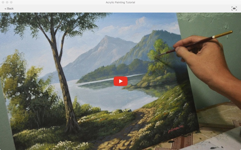 Acrylic Painting Tutorial screenshot 5