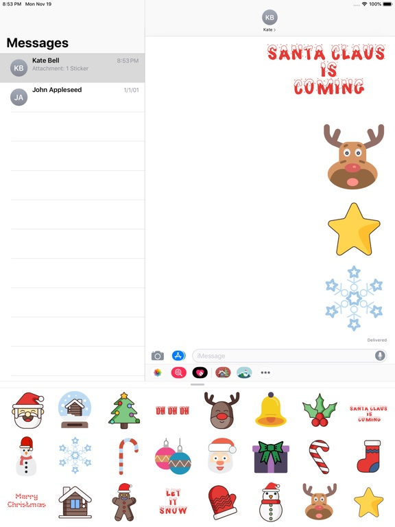 Christmas Stickers And Phrases screenshot 7