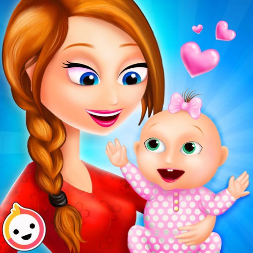 Mommy Newborns Baby Care Games iOS App
