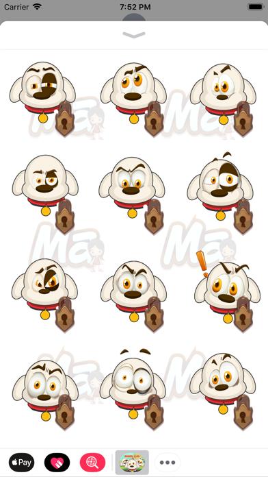 Animal Clan Dog Stickers screenshot three