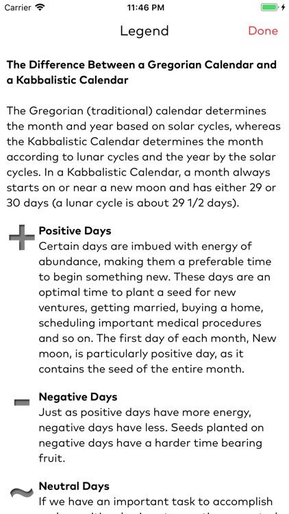 Kabbalistic Calendar screenshot-4
