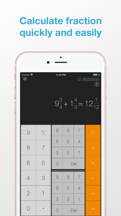 iFraction Calculator Plus