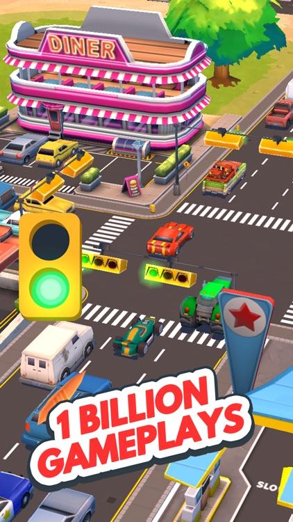Traffic Panic Boom Town screenshot-3