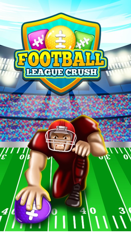 Football League Crush -Match 3