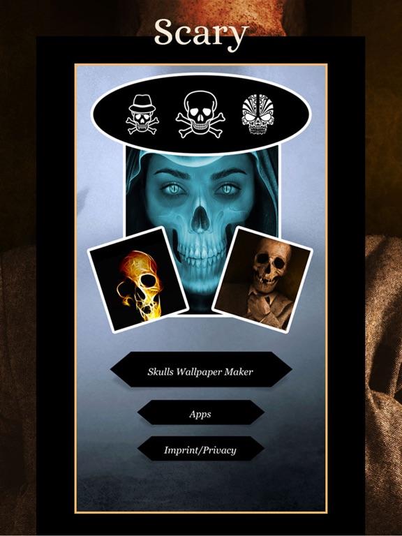 SKULLS Gothic Wallpaper Maker screenshot 8