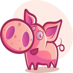 Mister Piggy stickers