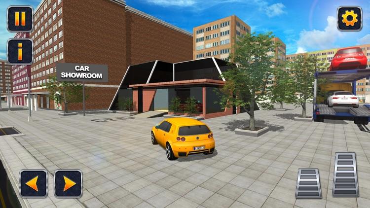 City Car Transporter Trailer screenshot-3