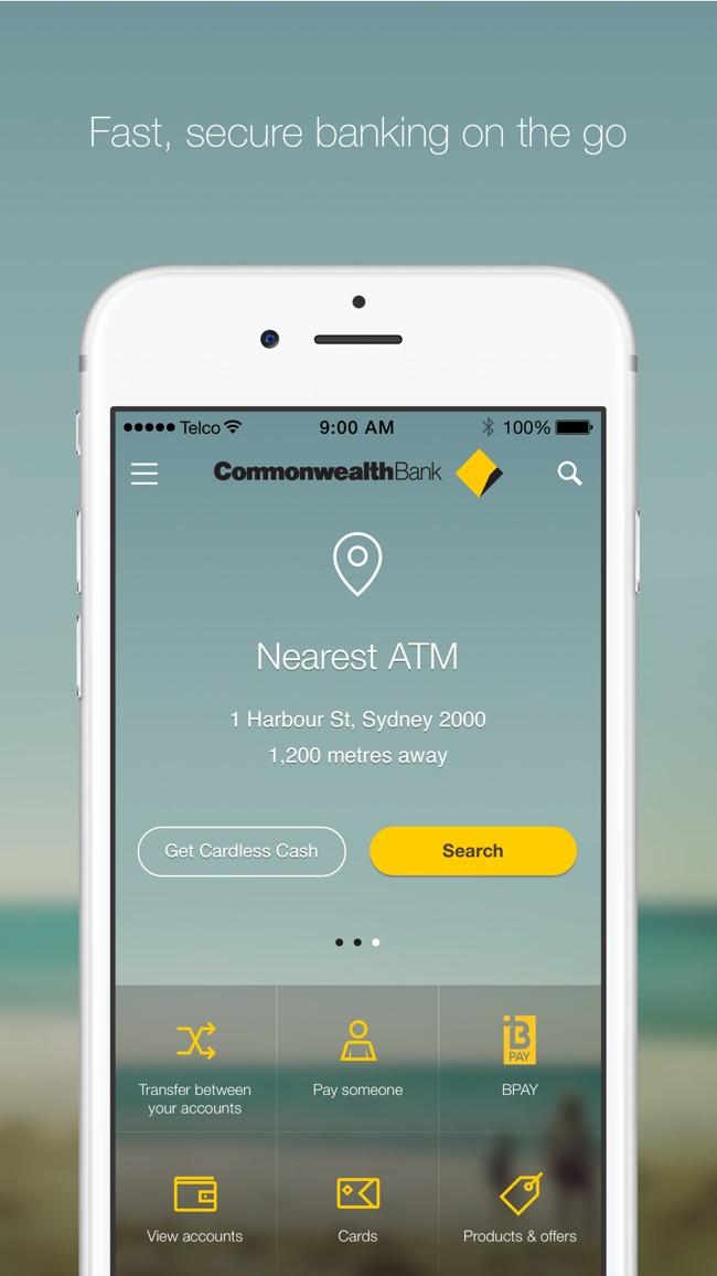 CommBank Screenshot