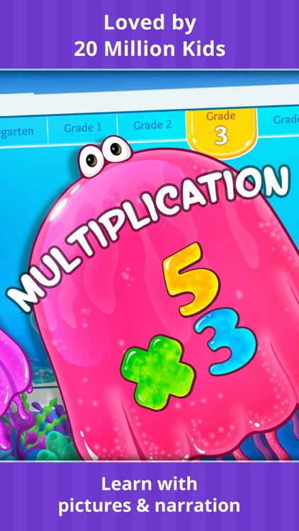 Grades K-5 Math Learning Games