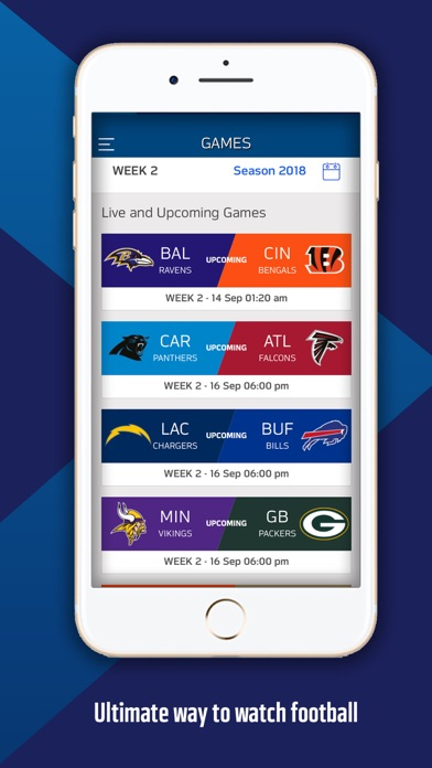 NFL Game Pass Europe Screenshots