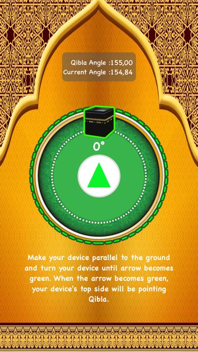 Qibla Finder and Qibla Locator screenshot one