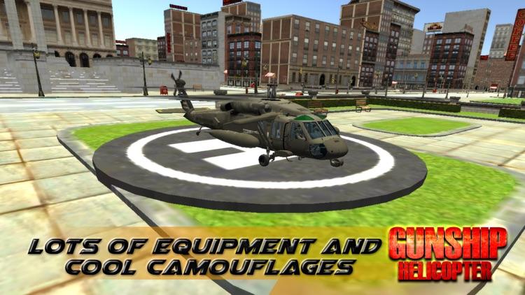 GunShip Helicopter