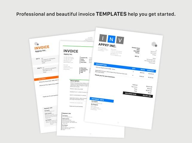 Tiny Invoice On The App Store - Tiny invoice website