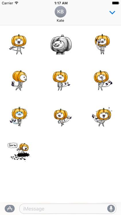 Jack-o'-Nyan Cute Cat Sticker