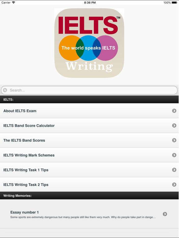 IELTS Writing Essays & Calc | App Price Drops