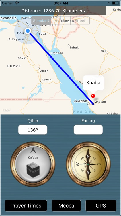 Qibla Finder : Prayer Timings screenshot-2