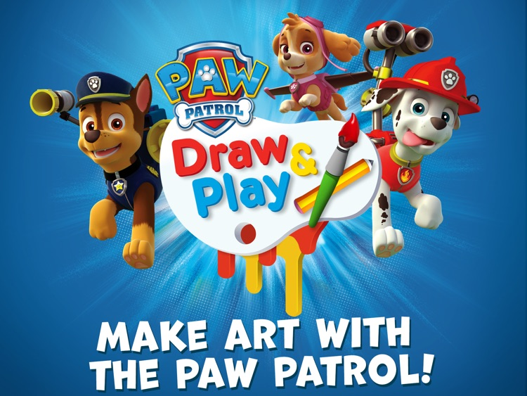 PAW Patrol Draw & Play HD screenshot-0
