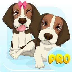 Beagle Emoji Pro