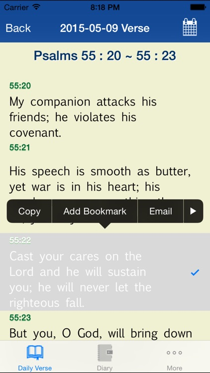 Bible+Diary screenshot-2
