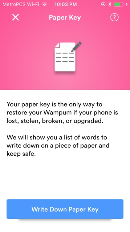 Wampum 1st Wallet screenshot-3