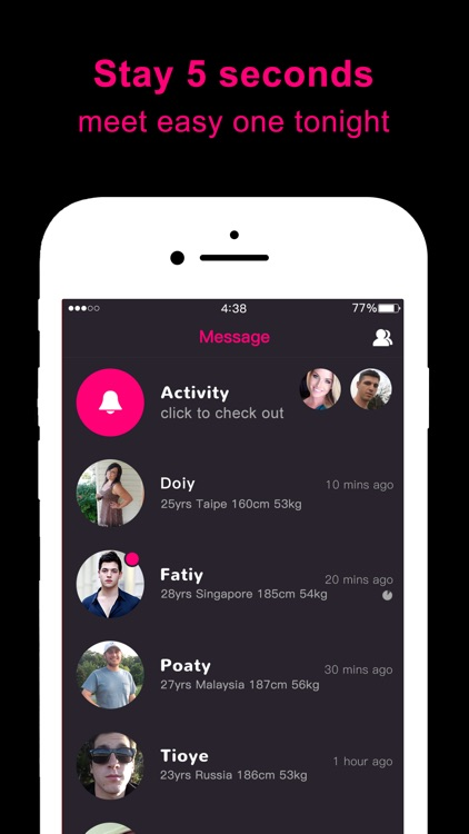 One Night Dating Apps screenshot-3