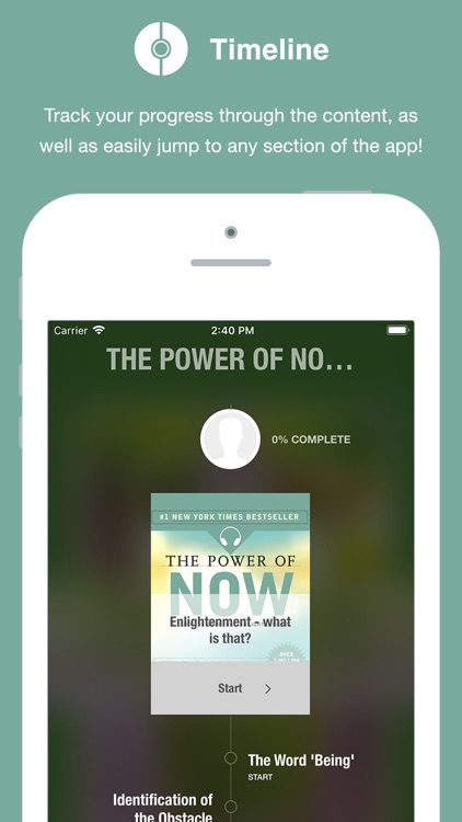 Power of Now - Audio screenshot-0