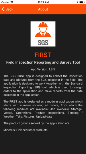 SGS FIRST on the App Store