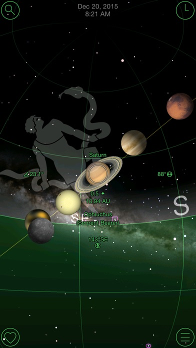 GoSkyWatch Planetarium - the astronomy star guide Screenshot 2