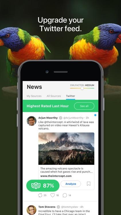 OwlFactor News Evaluator screenshot-4