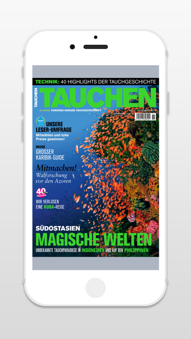 TAUCHEN - Zeitschrift