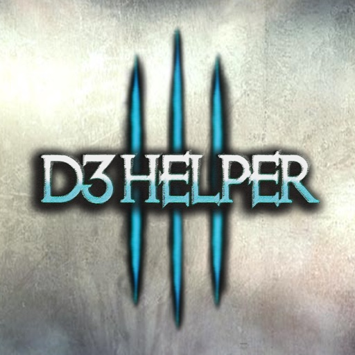 D3 Helper for Diablo III