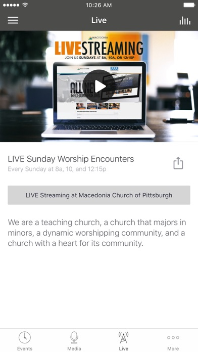 Macedonia Church of Pittsburgh screenshot 3