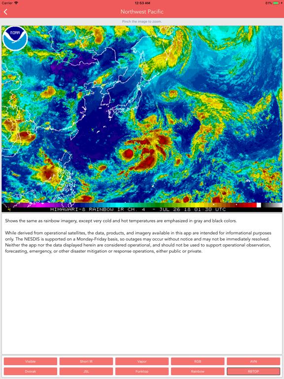 Typhoon Tracker (台風 태풍 台风) screenshot 15