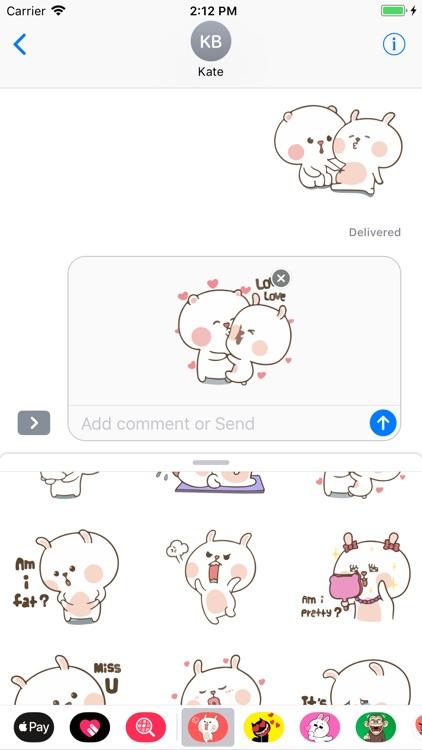 Ivy Cute Emojis Stickers App