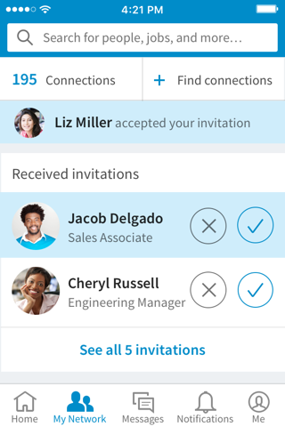LinkedIn screenshot 3