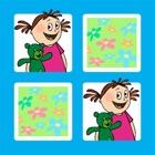 記憶ゲーム - ミリーとテディ icon