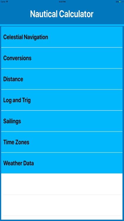 Nautical Calculators MGR