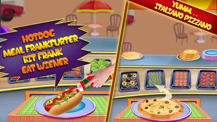 Fast Food Truck Park Chef Game screenshot-3