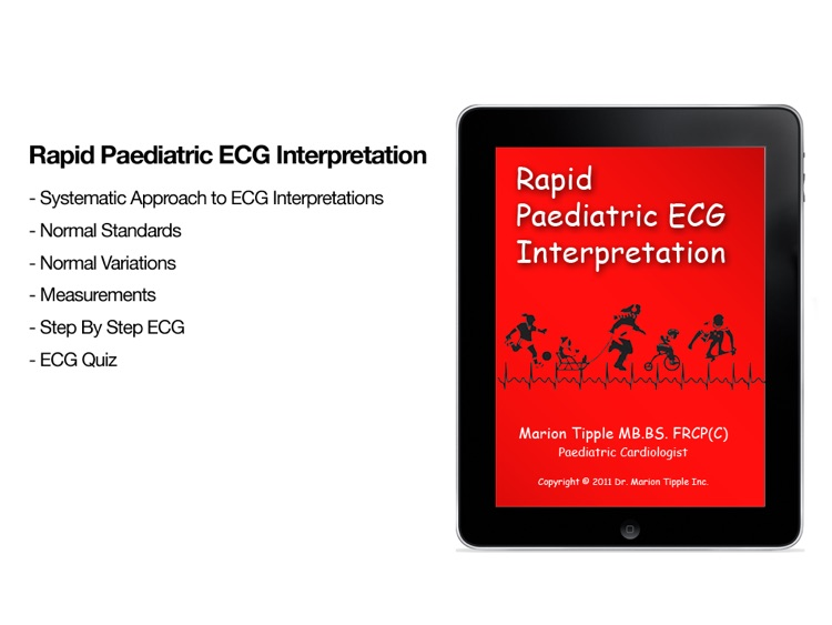 Rapid Paediatric ECG
