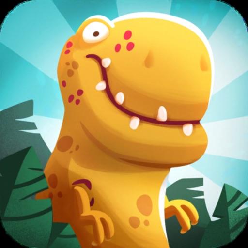 Dino Bash - Динозавры против Пещерных людей