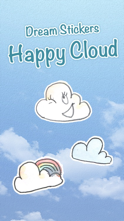 Dream Stickers - Happy Cloud