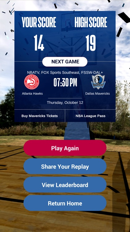 NBA AR - Basketball Game screenshot-3