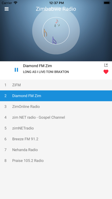 Zimbabwe Radio Station FM Live screenshot four