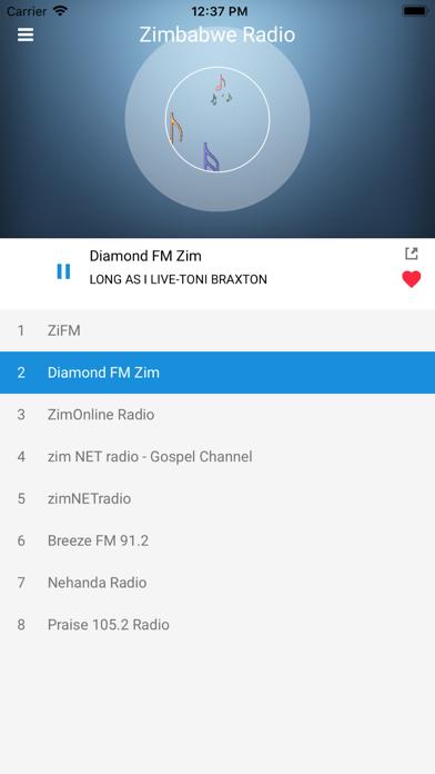 Zimbabwe Radio Station FM Live screenshot four
