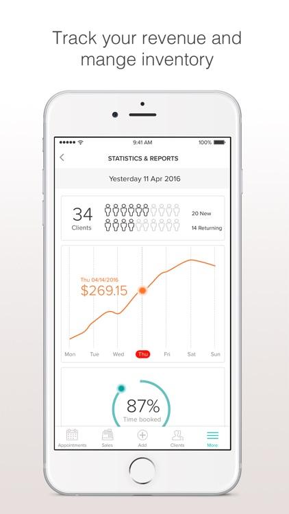 BooksyBIZ: Track Your Business screenshot-3