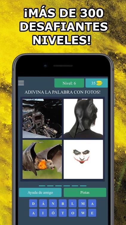 4 Fotos 1 Palabra en Español screenshot-4