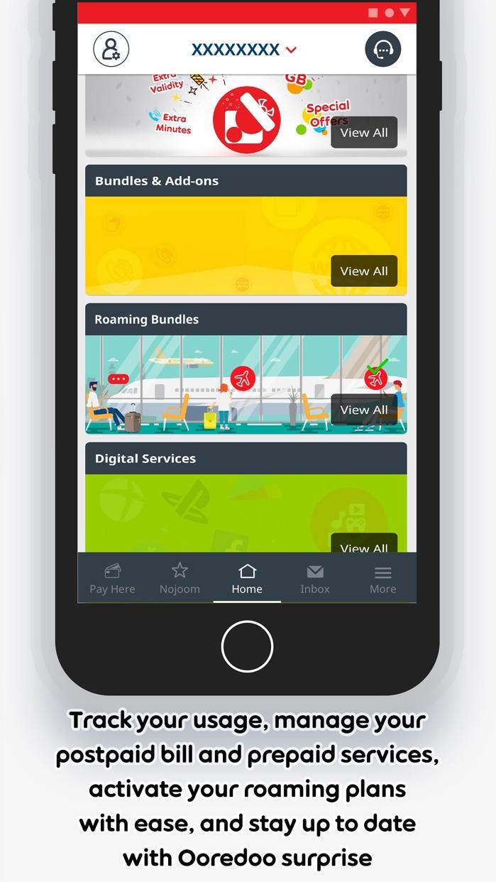 My Ooredoo Kuwait Screenshot
