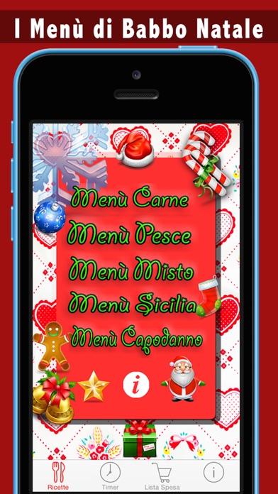 I Menù di Babbo Natale