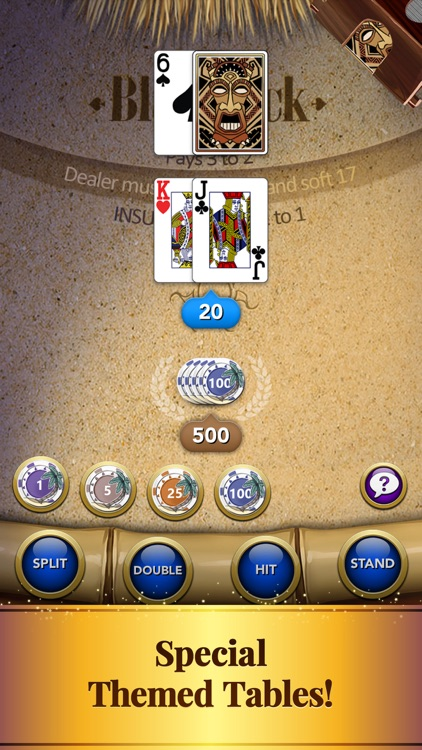 Blackjack: Casino Card Game screenshot-4