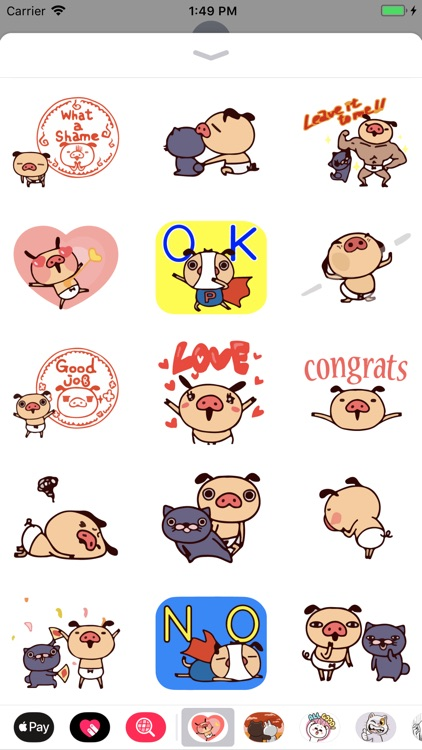 Polly Cute Stickers Pack App